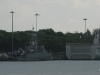 Navy ships at Changi Naval base