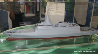 An early model of the LCS displayed at LIMA 2011.