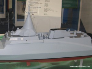 BNS/Gowind Frigate model
