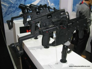 Kriss multi-calibre SMG from Sphinx of Switzerland
