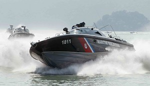 One of the FIC built by BYO Marine Sdn Bhd for APMM.