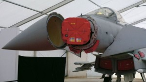 Typhoon fitted with Captor E AESA radar.