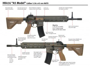 HK latest and greatest 416 A5.