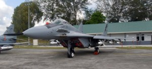 RMAF MiG-29N M40-11 at Kuantan air base in 2014.