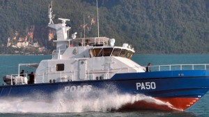 One of the 25m patrol boat built for PDRM by PME