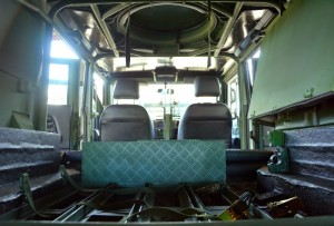 The inside of the GK-M1 Weapon Platform