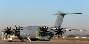 RMAF first A400M M54-01 out of the paint shop. Airbus photo