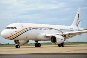 The ACJ320 9H-AWK which is operated by the PMO since early this year to replace the BBJ which had been sold.