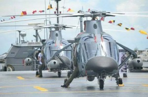 Philippine Navy armed AW109s.