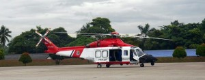 MMEA AW139 M72-03 was used to carry Istana Negara accompanying the Agong when the King flies in the VIP Blackhawk. Picture taken in late 2013. Malaysian Defence