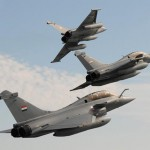 Rafales in Egyptian Air Force colours. Rafale