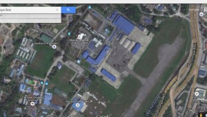 A Google map of the Air Wing base in Sungei Besi