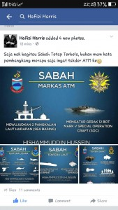 The infographic on the list of defence equipment for Sabah. Note the Mark V SOC picture. Twitter