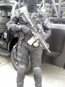 A UTK operator with the Ferfrans SCW. It is likely that the weapon was purchased under the OTS buy at the unit level