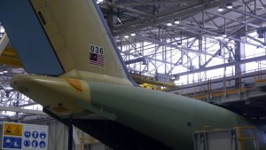 Atlas MSN36 - destined to be RMAF second Atlas - is undergoing tests prior to assembly at Airbus DS facility in Seville.