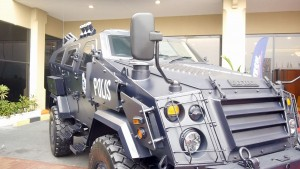 Deftech AV4 for PDRM. The version for PDRM is shorter than the Army ones.