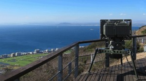 A Spexer 2000 radar keeping watch over a coastal area. Airbus
