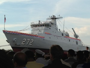 Teguh Samudera seen prior to  the launching ceremony in early 2013.