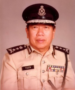 Tan Sri Yuen Yet Leng. PDRM picture
