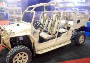 Polaris MRZR. PDRM bought 10 of these buggies for ESSCOM duties.