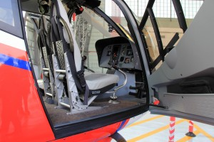 The cockpit of the H120/EC120B