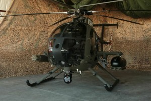 MD 530G light attack scout helicopter to be based in ESSCOM.