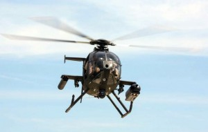 MD530G test bird with the weapons package expected to be procured.
