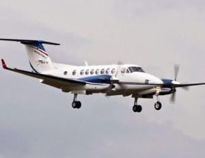 RMAF Super King Air 350 M101-02. The aircraft is leased from Aerotree for training and utility duties.