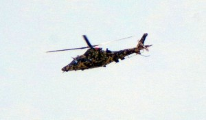 AW109 in the Army digital camouflage. Credit ZR.