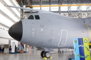 M54-02 in its hangar.