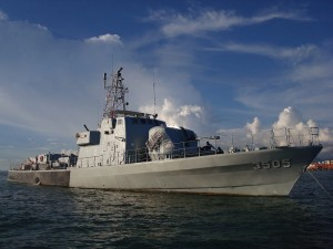 KD Jerong, the lead ship of the 6th Squadron FAC (G). RMN