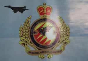 NO 17 Skuadron crest. Taken from the squadron banner.
