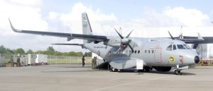 Indonesian Navy displayed its IPTN/Airbus CN235-220 MPA.