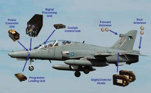 The SEER installation on the RMAF Hawk as envisioned by Finmeccanica back in 2010. It will be the same configuration if the Hawk upgrades is funded. Finmeccanica.