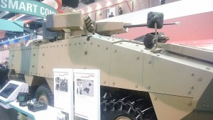 ST Kinetics Terrex with a RWS 30mm turret. The 1.5 variant shown here is painted the Australian Army camouflage. The Terrex 2.0 has been offered to the US Marines and the Australian Army.