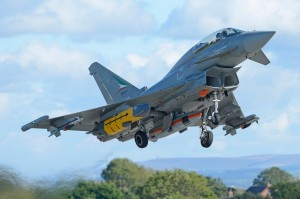 Typhoon IPA 2 with Storm Shadow during trials in early 2016.Eurofighter picture