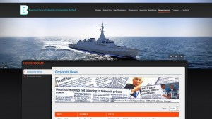 A screen grab of the BHIC website featuring the LCS graphic and pennant number 177.
