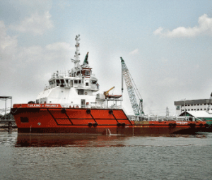 Tanjung Pinang 2, one of the Malaysian flag ships owned by icon Offshore Bhd.