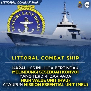 One of the info-graphics published by the Defence Minister social media team. Its the Gowind corvette, not the LCS.