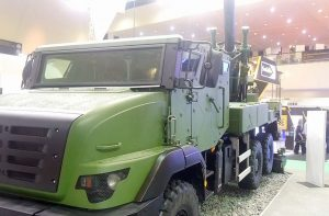 The Nexter Systems Caesar 155mm/52 SPH