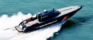 One of the Penggalang class FIAC procured from BYO Marine Sdn Bhd.