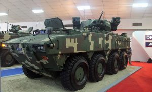 Gempita with 30mm LCT turret with ATGM launchers.