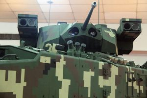 Gempita with LCT30 turret with 30mm gun and ATGM launchers.