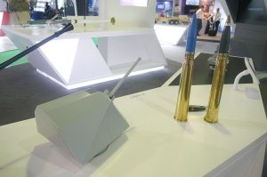 BAE Systems 57mm gun and 57mm 3P ammo