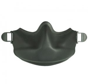 The Gentex Maxillofacial Shield (MFS) safeguards the wearer's lower face from rotor wash, flying debris, and wind-blast during helicopter operations. Gentex
