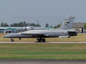 RMAF MB-339CM M34-20 in a picture taken at the Cope Taufan in 2014 at Butterworth.
