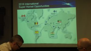 2016 International Super Hornet Opportunities. Tim Robinson.