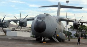 M54-02 flew invited guests and the media to Kuantan airbase for the 58th anniversary parade on June 1.