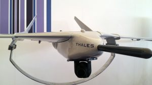 A full size Fulmar X mock-up at Thales booth at Farnborough air show. Thales.