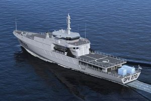 ocea OPV 270. The Philippine Coast Guard is getting one next year. Internet.